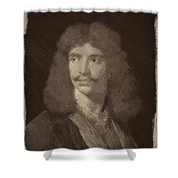 Jean Baptiste Moliere Shower Curtain
