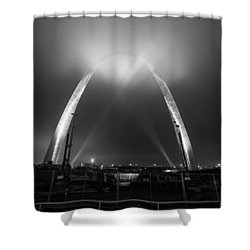 Jefferson Expansion Memorial Gateway Arch Shower Curtain