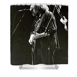 Shower Curtain featuring the photograph Grateful Dead - Jerry Garcia - Celebrities by Susan Carella