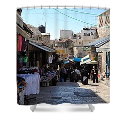 The Old City Of Jerusalem 1 Shower Curtain