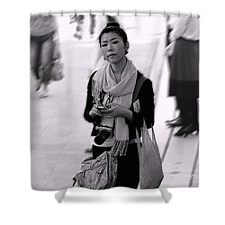 Jidai Matsuri Xv Shower Curtain by Cassandra Buckley