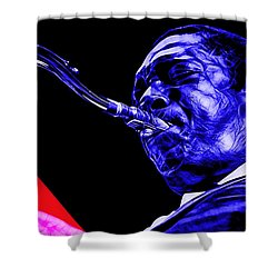 John Coltrane Collection Shower Curtain