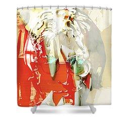 John Lennon Art Shower Curtain by Marvin Blaine