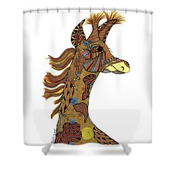 Josi Giraffe Shower Curtain