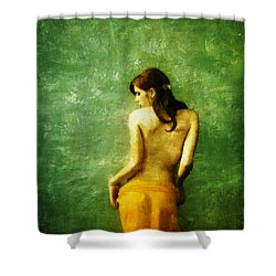 Just A Back Shower Curtain