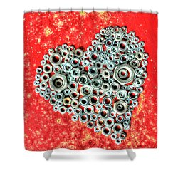 Just A Nut At Heart Shower Curtain