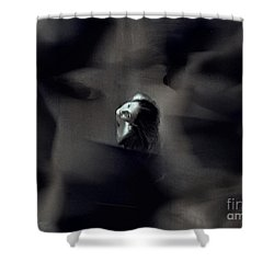 Just For Today I Will Not Be Afraid  Shower Curtain