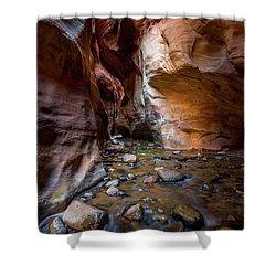 Kanarra Slot Canyon Shower Curtain