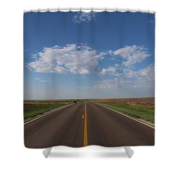 Kansas Road Shower Curtain