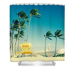 Kapukaulua Beach Maui North Shore Hawaii Shower Curtain