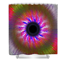 Keeping My Eye On You Shower Curtain