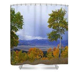 Kenosha Pass Shower Curtain