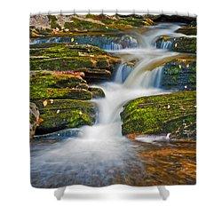 Kent Falls Shower Curtain