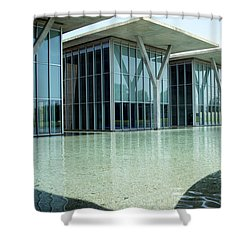 Kimbell Art Museum Shower Curtain