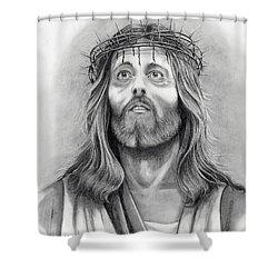 King Of Kings Shower Curtain by Murphy Elliott