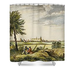 Kings College, New York Shower Curtain by Granger