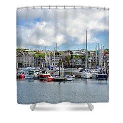 Kinsale Harbor  Shower Curtain
