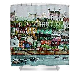 Kinsale Harbour. Wesr Cork, Shower Curtain