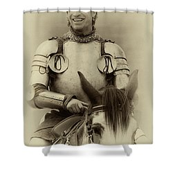 Shower Curtain featuring the photograph Knights Of Old 12 by Bob Christopher