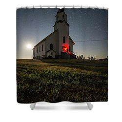 Knockin On Heaven's Door Shower Curtain