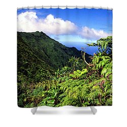 Koolau Summit Trail Shower Curtain