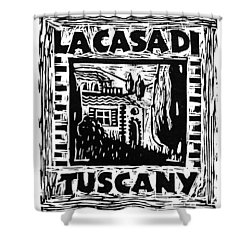 La Casa Di Tuscany Shower Curtain