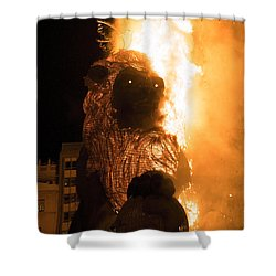 La Crema Fallas 2015 Shower Curtain
