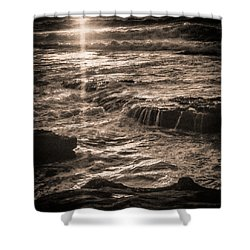 Shower Curtain featuring the photograph La Jolla Sunset by Samuel M Purvis III