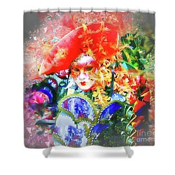 La Serenissima Shower Curtain by Jack Torcello