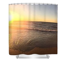 Lake Superior Fall Shower Curtain