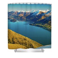 Lake Wanaka Shower Curtain