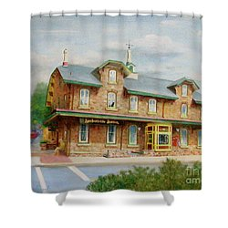 Lambertville Inn Shower Curtain