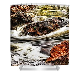 Lamina Flow Shower Curtain by Blair Stuart