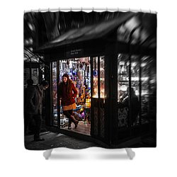 Lamp Shop Shower Curtain
