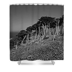 Lands End In San Francisco Shower Curtain