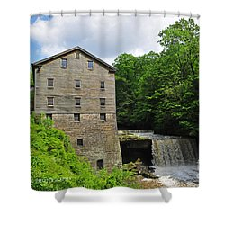 D9e-28 Lantermans Mill Photo Shower Curtain