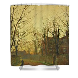 Late October Shower Curtain