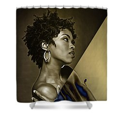 Lauryn Hill Collection Shower Curtain