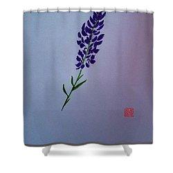Delphinium Shower Curtain