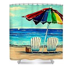 Lazy Days Shower Curtain