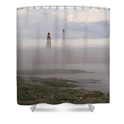 Le Guide. Shower Curtain