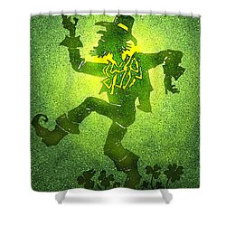 Leprechaun Shower Curtain