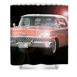 Let's Go Shower Curtain by David and Lynn Keller