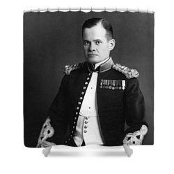 Lewis Chesty Puller Shower Curtain by War Is Hell Store