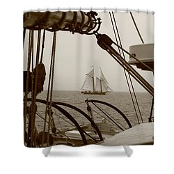 Lewis R French Shower Curtain
