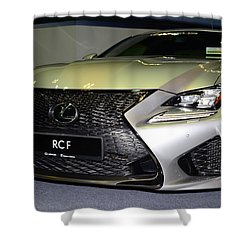 Lexus Rcf Shower Curtain