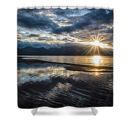 Light The Way Shower Curtain by Mitch Shindelbower