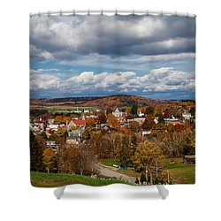 Shower Curtain featuring the photograph Ligonier Valley by April Reppucci
