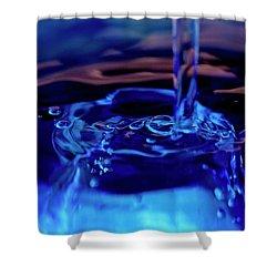 Shower Curtain featuring the photograph Liquid  II by Rico Besserdich