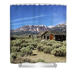 Little House Shower Curtain by Joseph G Holland